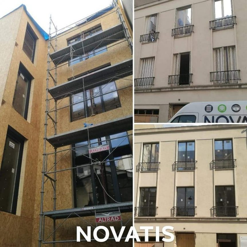 Pose et installation de fenêtres à Paris